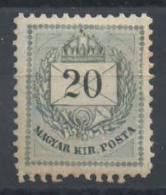 HONGRIE - YT#22A * - 1888-98 - Neufs