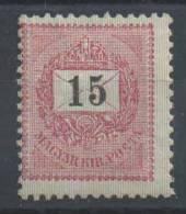 HONGRIE - YT#30A * - 1898-99 - Neufs