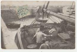 MARINS PÊCHEURS - EDITION STAERCK, PARIS - ECRITE EN 1905 - 2 SCANS - - Visvangst