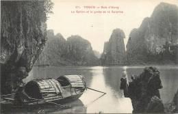 COCHINCHINE TONKIN BAIE D'ALONG  LE SPHINX ET LA GROTTE DE LA SURPRISE - Vietnam