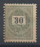 HONGRIE - YT#33BA * - 1899 - Neufs