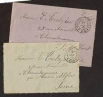 Lettre F.M Trésors Et Poste 1915 Secteur 64 - Collections