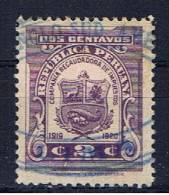 PE Peru 1919 Mi Xx 2 C Zwangszuschlagsmarke - Peru
