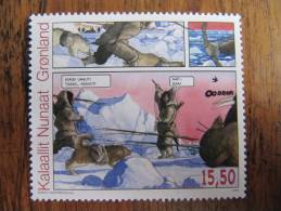 7631 BD Art Inuit Eskimo Chien Traineau Ours Polaire Polar Bear Dogsled Chasse Hunter Banquise Glace - Comics