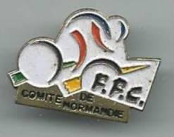 Pin´s : Vélo - Cyclisme :   Comité De  Normandie - Cyclisme