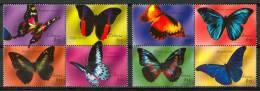 2000 Liberia Fauna Farfalle Butterflies Schmetterlinge Papillons Set MNH** (Proveniente Da Foglietto) Pa9 - Liberia