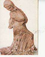 BR22098 Dancer Greek Terra Cotta Figure  Sculpture  2 Scans - Sculptures