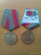 Medalla 1945-1985. 40 Aniversario 2ª Guerra Mundial. URSS. Comunista. - Rusia