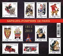 France BF N° F 4582 ** Protection Civile - Sapeurs Pompiers - Incendie- Voiture - Chien - Chevaux - Blocs & Feuillets