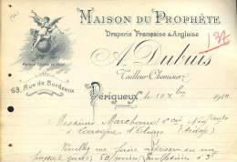 2207 - DORDOGNE PERIGUEUX 1914 .- DRAPERIE FRANCAISE ET ANGLAISE - Altri