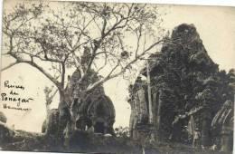 Ruines De Ponagar (Anham) Animée Recto Verso - Viêt-Nam