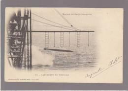 Marine De Guerre - Lancement De Torpille - Marius Bar Toulon 67 - Pionniere - Warships