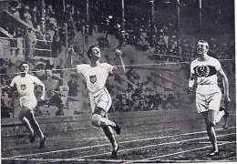 Photo Jeux Olympiques -nr 23-stockholm 1912-image-arrivée Du 400m-sammelbande- - Sports