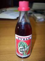 Cynar Liquore Aperitivo A Base Di Carciofo: Bottiglia Mignon Tappo Plastica. S.A.I.P. Pomezia - Spirits