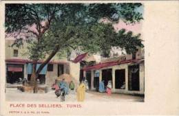 TUNIS - Place Des Selliers - Ane    (47939) - Tunisie