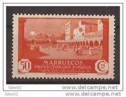MA142-A929TAMR.Maroc.Marocco  MARRUECOS ESPAÑOL.VISTAS Y PAISAJES.1933/5. (Ed 142*) Con Leve Charnela.MAGNIFICO. - Mezquitas Y Sinagogas