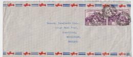 Cover Trinidad Et Tobago Port Of Spain To Brentford Middlesex 1949 - Trinidad & Tobago (...-1961)