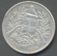 GUATEMALA 1 PESO 1894 , SILVER - Guatemala