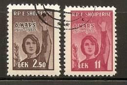 Albania 1960 Women's Day, Used (o) - Albanie
