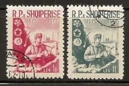 Albania 1960 Bordermen, Used (o) - Albanie