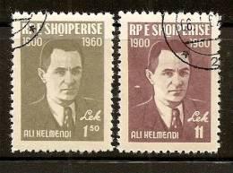 Albania 1960 Ali Kelmendi, Used (o) - Albanie