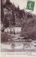 Nozeroy.Une Chute Au Moulin Du Saut.1913 - Otros Municipios