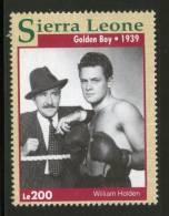 Sierra Leone 1993 Golden Boy - William Holden Sc 1610b Boxing Movies Stars Cinema Film Actor Sport MNH ++ 2770 - Cinema