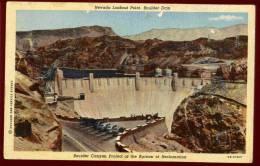 Cpa Etats Unis Nevada Lookout Point , Boulder Dam Boulder ,  Canyon Project Of The Bureau Of Reclamation    DIV9 - Etats-Unis