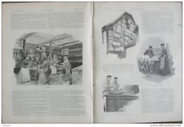 4 Pages De 1893 : Oie, Foie Gras, Gavage Des Oies, Fabrication, Cuisson... Geese - Breeding