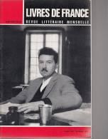 Livres De France - Revue Littéraire Mensuelle - N° 8 - Octobre 1965 - Libri, Riviste, Fumetti