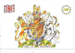 ITALIE , CP, MILITARIA , MILITARIA IN EUROPA   , Angleterre   854/1000  (866)° - Militaria