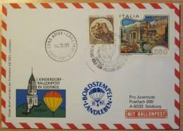 Pro Juventute Sonder-Ballonpost Nr. 37 (1988; Italien) - Per Palloni