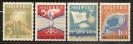 Albania 1964 Summer Olympic Games In Tokyo, MNH (**) - Albanie
