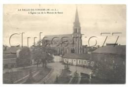 La Salle-de-Vihiers (49)  : Les Jardins Et Les Bâtiments De La Maison De Santé Près De L'église En 1910. - Other Municipalities