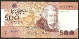 PORTUGAL - 500 ESCUDOS - 4.11.1993 - Portugal