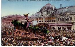 Carnaval De Nice - La Roseraie Et Ses Boutons D'or ( Tagliavache U. Constructeur ) - Carnaval