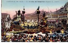 Carnaval De Nice - La Croisière De Gargantua ( Farau A. Constructeur ) - Carnaval
