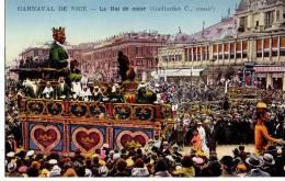 Carnaval De Nice - Le Roi Du Coeur ( Gaillardet C. Constructeur ) - Carnaval