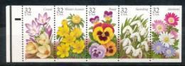 USA  Mi.Nr. 158 Heftchenblatt (2685-2689) Blumen- MNH - 3. 1981-...