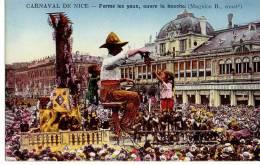 Carnaval De Nice - Ferme Les Yeux , Ouvre La Bouche ( Magnico B. Constructeur ) - Carnaval