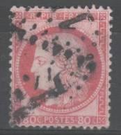 Cérès N° 57 (Variété, Belle Tache Devant La Bouche Et Filet Du Haut Brisé) Avec Oblitération Losange  TB - 1871-1875 Ceres