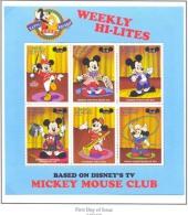 #  M-560  MINT NEVER HINGED MINI SHEET OF DISNEY ; HAPPY 70th BIRTHDAY ;    (  ST.VINCENT  & GR  2571  1998 - Disney