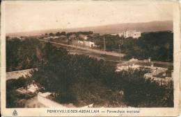 Tunisie -    FERRYVILLE -SIDI ABDALLAH - Pyrotechnie Maritime - Tunisie