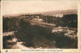 Tunisie -    FERRYVILLE -SIDI ABDALLAH - Pyrotechnie Maritime - Tunisia