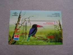 == Indosien  1988   , Birds  Block  ** MNH - Indonesien