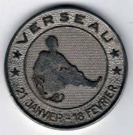 Médaille Horoscope : VERSEAU 21 Janvier - 18 Février : Coveco Meubles (revers) - Unclassified