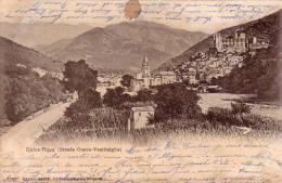 DOLCEACQUA-IMPERIA-STRADA   CUNEO VENTIMIGLIA-VIAGGIATA NEL 1901- - Imperia