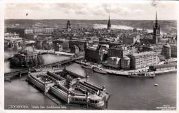 STOCKHOLM (Schweden), Utsikt Fran Stadshusets Torn, Gelaufen 1930 - Schweden