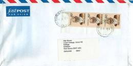 60 C. Te-Ata-O-Tu  X 3   On Air Letter To UK - Covers & Documents