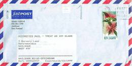 $1.80  Southern Rata Single On Redirecteed Air Letter To UK - Covers & Documents